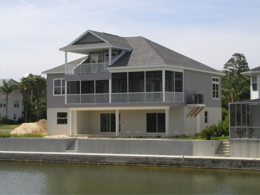 Stilt houses by prestige homes spec houses for Stilt homes for sale